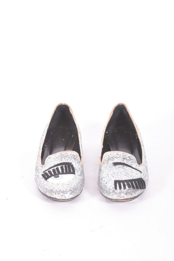 Giltered Flat shoes Frente