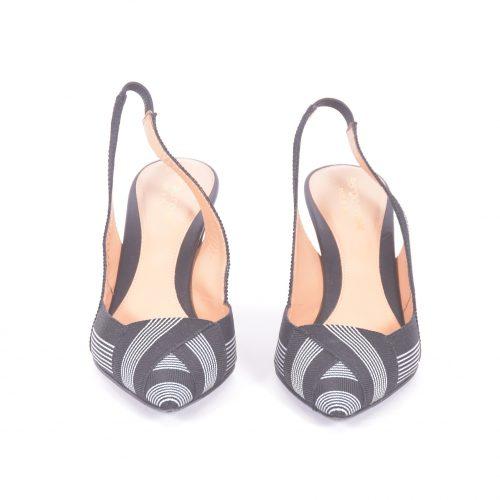 sapatos slingback frente
