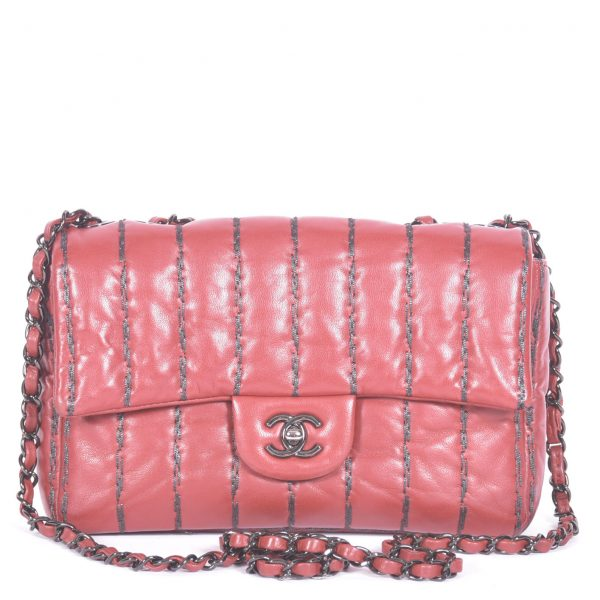 Quilted Medium Single Flap Bag