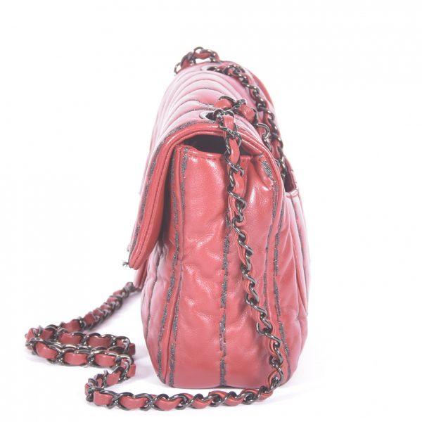 Quilted Medium Single Flap Bag Lado