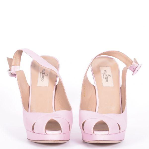 Sandálias Rosa Frente