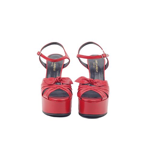 Sandálias Compensadas Frente
