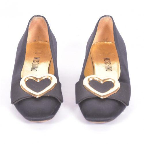 Sapatos Em Tecido Frente
