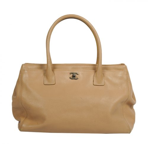 Leather Cerf Tote