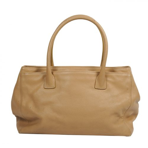 Leather Cerf Tote Costas