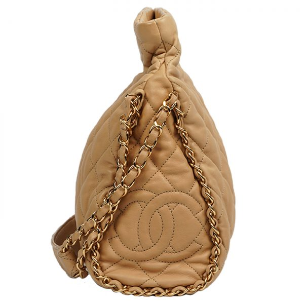 Mateless Lambskin Leather Shoulder Bag Lado