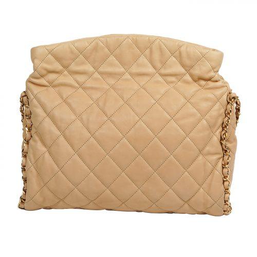 Mateless Lambskin Leather Shoulder Bag Costas