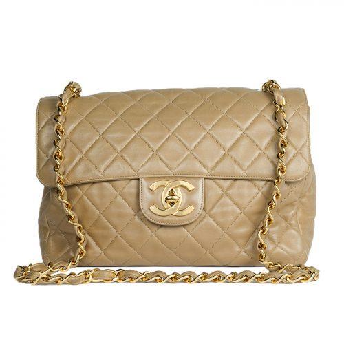 Jumbo Classic Single Flap Bag