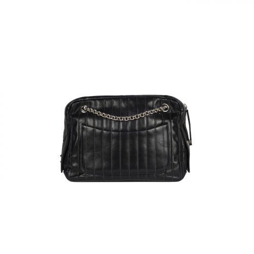 Mademoiselle Leather Chain Shoulder Bag Costas