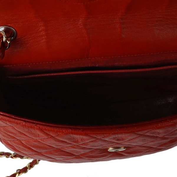 CC Quilted Lamskin Leather Bag Lado