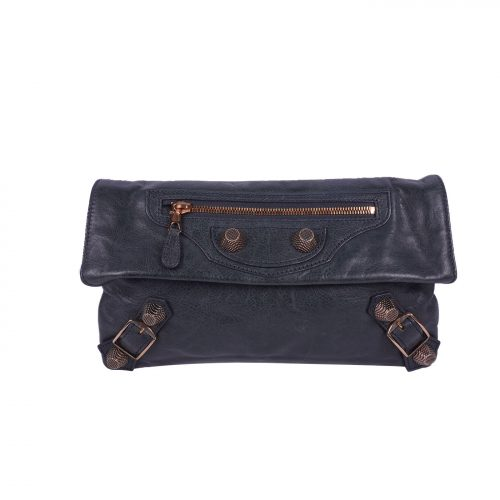 Envelop leather Clutch Bag