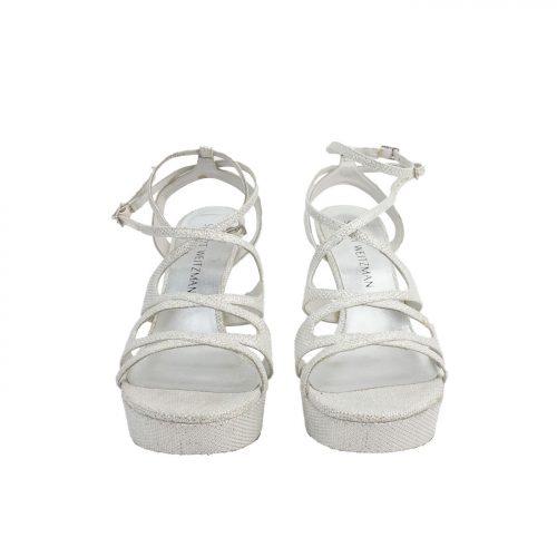 Sandálias Com Brilho Frente