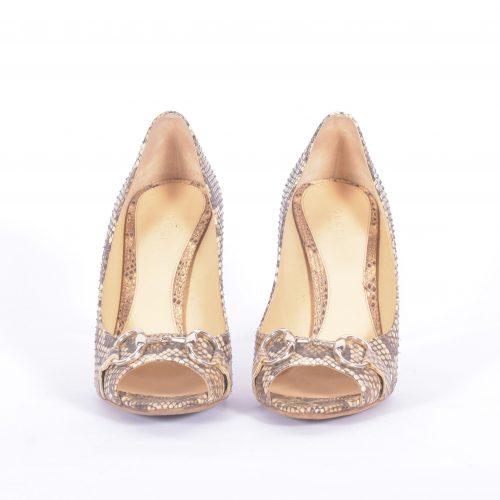Sapatos Em Python Frente