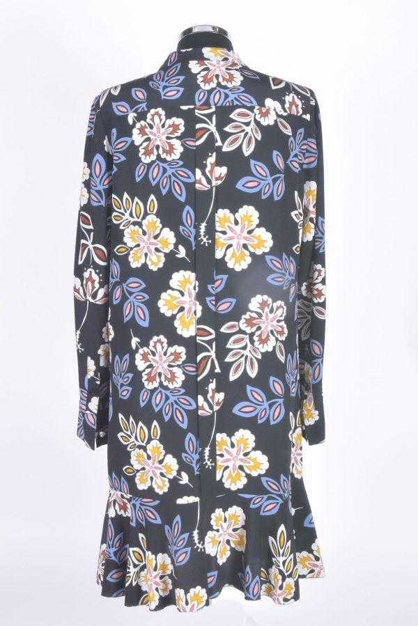 Vestido Flores Costas