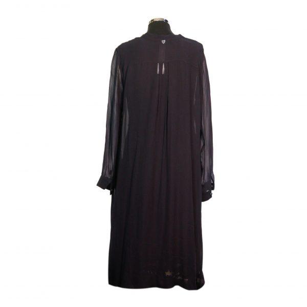 Vestido Com Casaco Costas
