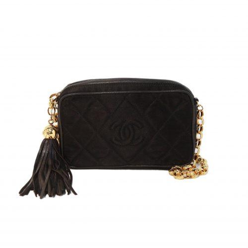 Satin Chain Crossbody Bag