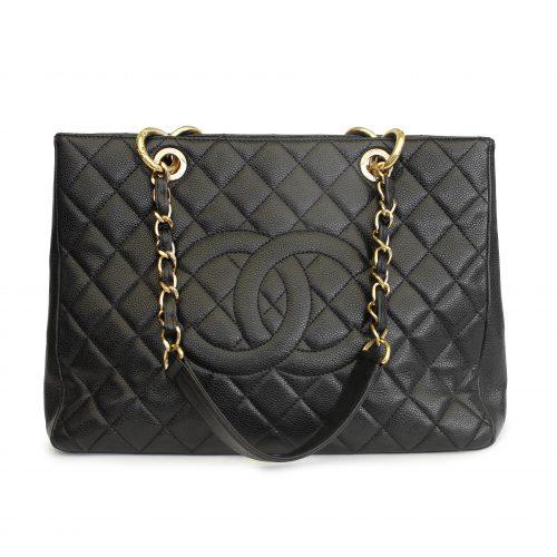 Caviar Grand Shopping Tote Bag