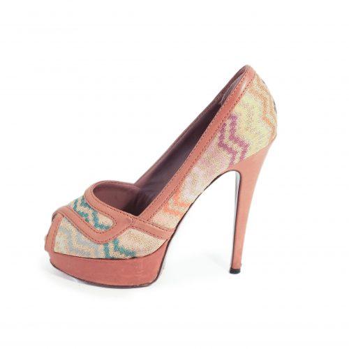 Sapatos Abertos Na Frente
